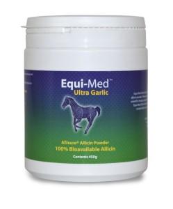 EQUI-MED ULTRA GARLIC Nahrungsergänzungsmittel, enthält stabilisiertes Allicin